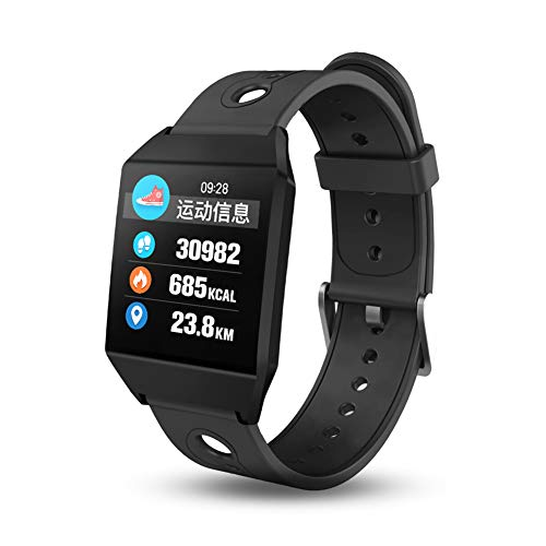 W1 Bluetooth Smart Watch, Blood Heart Rate Tracker Wristwatch, Android iOS GPS Religion Pedometer Smart Watch for Man Women from JLySHOP
