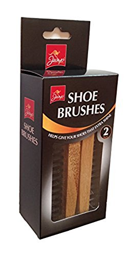 Jump Shoe Polishing Brushes 2 Pieces Pack Set from JUMP