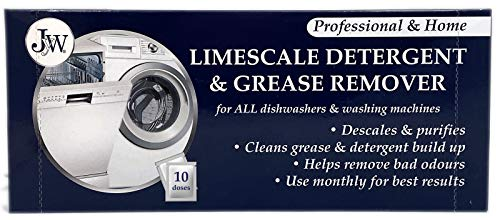 Limescale & Detergent Remover for Washing Machines & Dishwashers 10 Applications from JYW