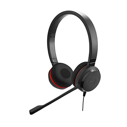 Jabra Evolve 30 II stereo noise cancelling headphones- optimised for Unified Communications from Jabra