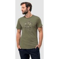 Jack Wolfskin Marble Paw T Shirt from Jack Wolfskin