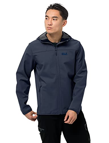 Jack Wolfskin Northern Point Men's Softshell Jacket, Night Blue,blue,XL from Jack Wolfskin