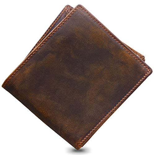 Jack&Chris®Men's High Quality Genuine Leather Wallet Purse(Gift Box),NM8056R*1 from Jack&Chris