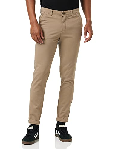 Jack & Jones NOS Men's Jjimarco Jjbowie Sa Trouser, Beige (Beige), W33/L32 (Manufacturer size: 33) from Jack & Jones