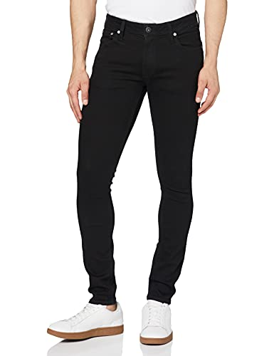 JACK & JONES Men's JJILIAM JJORIGINAL AM 009 LID NOOS Jeans, Black (Black Denim), W32/L34 (Manufacturer size: 32) from Jack & Jones