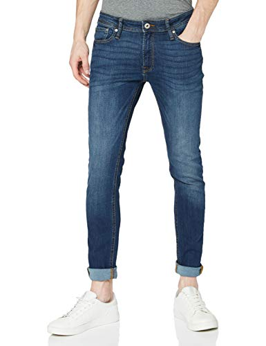JACK & JONES Men's Jjiliam Jjoriginal Am 014 Lid Noos Jeans, Blue Denim, 31W 34L UK from Jack & Jones