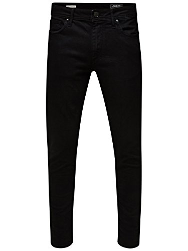Jack and Jones Men's Glenn Slim Fit Jeans, Black (Black Denim),W36/L34 from Jack & Jones