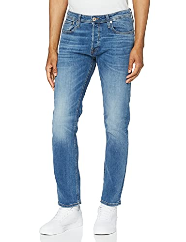 JACK & JONES Men's Jjitim Jjoriginal Am 781 50sps Noos Slim Jeans, Blue (Blue Denim), W29/L32 from Jack & Jones
