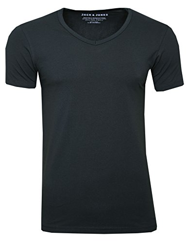 JACK & JONES Basic V-Neck T-Shirt Men - Black - L from Jack & Jones
