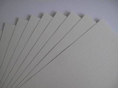 40 x A4 Milk White 1-Sided Laid Textured Paper 110gsm Cardmaking & Certificates AM330 from Jackdaw Express