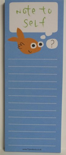 5 pk Memo Note Pad To Do List (50 sheet pad) - Note to Self from Jackdaw Express