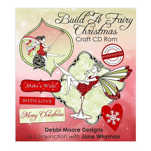 Debbi Moore Build A Fairy Christmas Craft CD ROM (324408) from Jackdaw Express