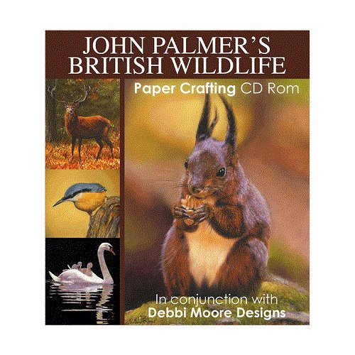 Debbi Moore John Palmer's British Wildlife Papercrafting CD ROM (324125) from Jackdaw Express
