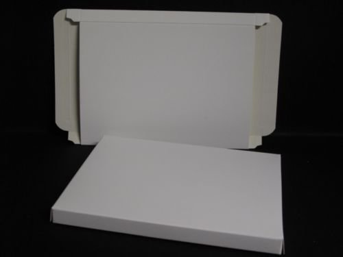"Envelope Box x 10 - Self Assembly White 135x187mm to take 7"" x 5"" Cards AM168 from Jackdaw Express"