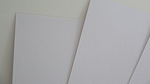 Watercolour Card Smooth PREMIUM White 300gsm Choose A5 or A6 Cardmaking Arts (A6 x 40 Sheets AM778) from Jackdaw Express