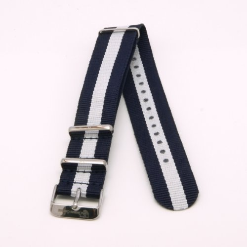 JACQUES COSTAUD * Dolce VITA * Santa Monica JC-N08BS Women's NATO Watch Strap from Jacques Costaud