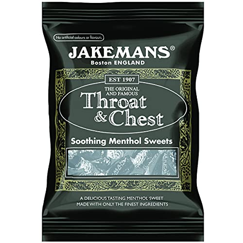 Jakemans Throat and Chest Bags 100g (Pack of 10) from Jakemans