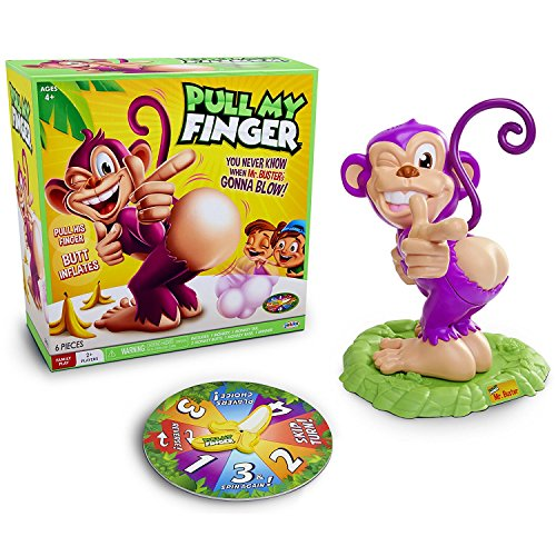 Pull My Finger Mr Buster Monkey Game from Jakks Pacific