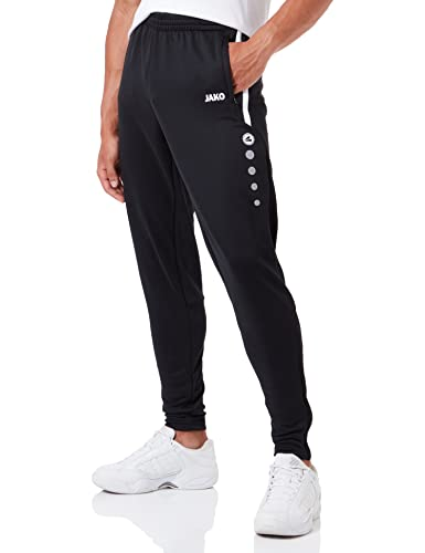 Jako Active Men's Tracksuit Bottoms, Black, XL EU from JAKO