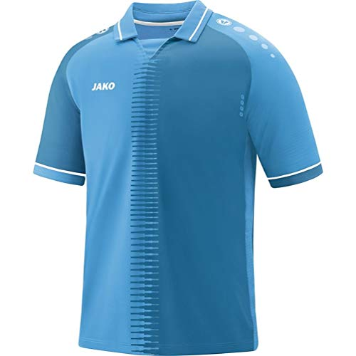JAKO Men's Trikot Competition 2.0 KA Jersey, SkyBlue/White, XS from JAKO