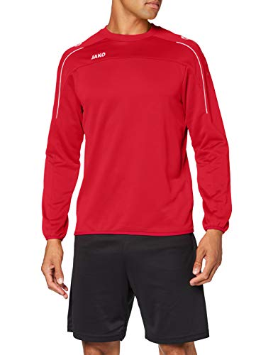 JAKO Men's Sweat Classico, red, S from JAKO