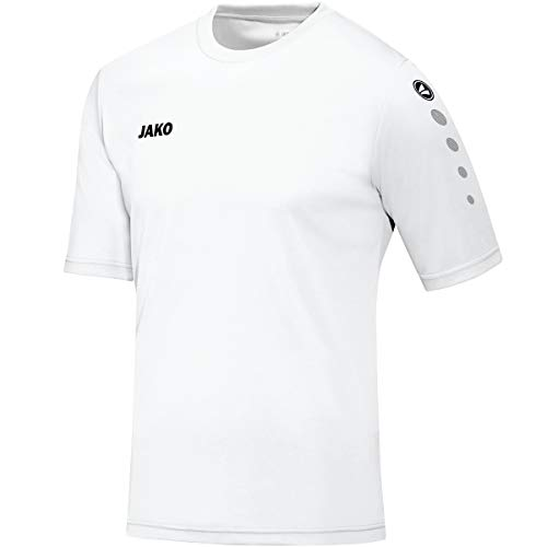 Jako Men's Ka Football Team Jersey, Men, Trikot Team KA, White, S - EU, XS - UK from JAKO