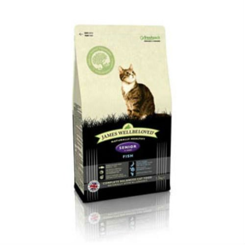 James Wellbeloved Complete Senior Cat Food with Fish (4kg) from James Wellbeloved