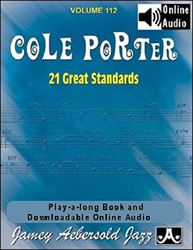 Volume 112: Cole Porter - 21 Great American Standards (Jamey Aebersold Play-A-Long Series) from Jamey Aebersold