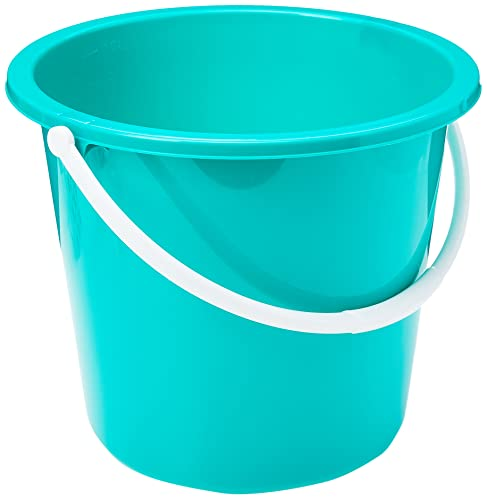 Jantex CD806 Round Plastic Buckets, Green from JANTEX