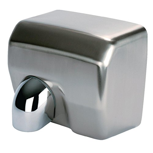 Jantex Automatic Hand Dryer 240X270X200mm Stainless Steel Wall Mounted from Jantex