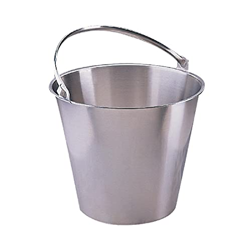 Jantex Stainless Steel Bucket 12Ltr Cleaning from Jantex