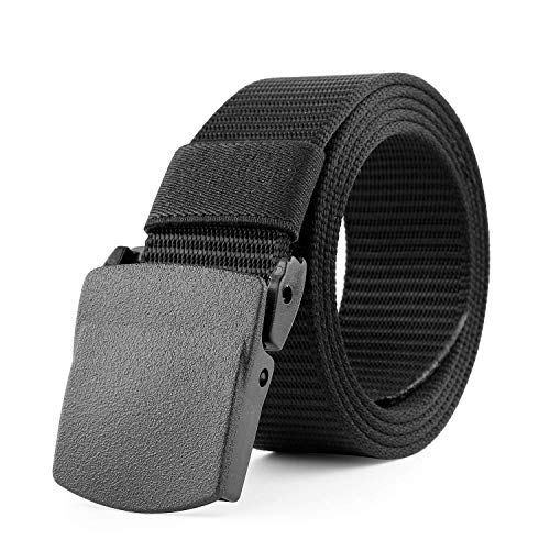 JasGood Nylon Canvas Breathable Military Tactical Men Waist Belt With Plastic Buckle from JASGOOD