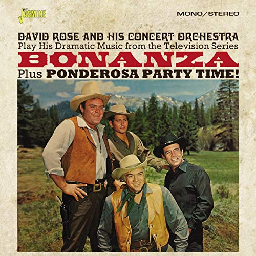 Bonanza! Plus Ponderosa Party Time (TV Series Soundtrack) from Jasmine Records
