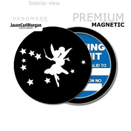 JCM Fairy MOT License Tax Disc Permit Holders, Black from JasonCarlMorgan