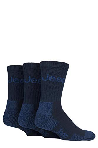 Jeep - All Terrain Boot Socks - Pack 3prs (Navy/Blue) from Jeep
