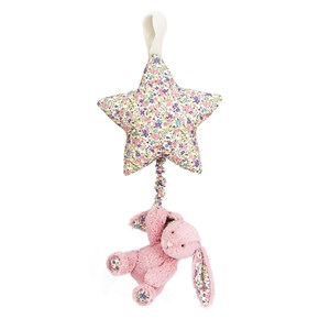 Jellycat Tulip Blossom Star Bunny Musical Pull Toy One Size from Jellycat