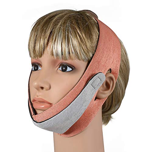 JewelryWe Facial Slimming Strap Anti Wrinkle Face Slimming Cheek Mask Chin Lifting Facial Belt Chin Skin Care Strap Band from JewelryWe