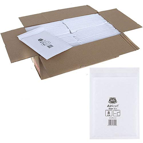 Jiffy 04890 Size 1 Airkraft Envelope - White (Pack of 10) from Jiffy