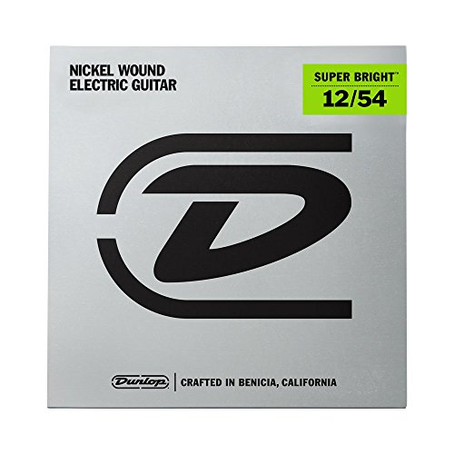 Dunlop DESBN1254 Super Bright Guitar Strings, Heavy, .012-.054, 6 Strings/Set from Jim Dunlop