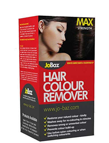 JoBaz Hair Colour Remover Extra Strength Removes Darker Shades & Colour Build Up from JoBaz