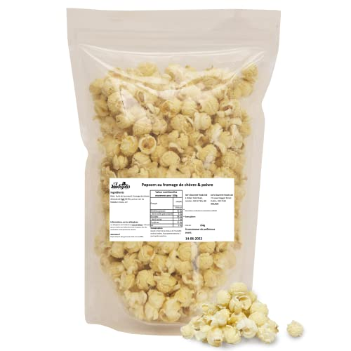 Joe & Seph's Popcorn Goats Cheese and Black Pepper Popcorn Catering Pack 250 g from Joe & Seph's Popcorn