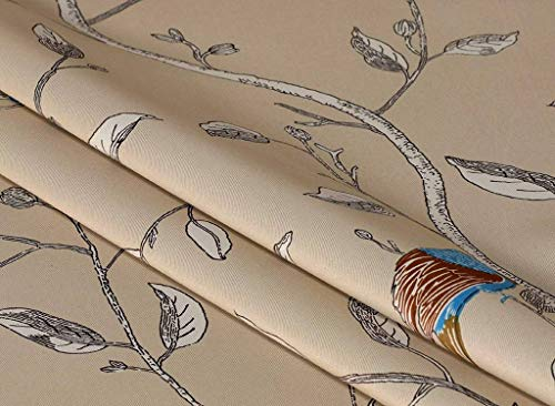 "John Aird Bird Thermal Blackout Eyelet Curtains (Natural, 90"" Width x 90"" Drop) from John Aird"