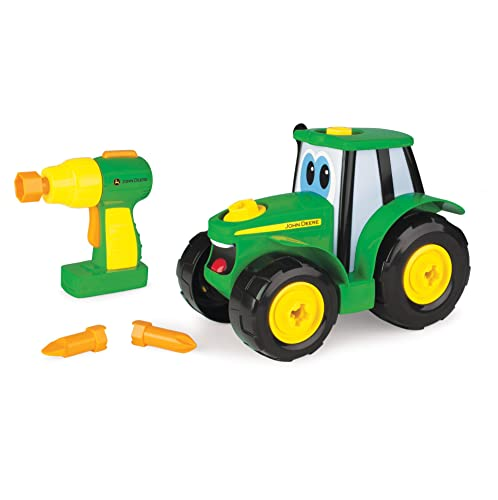 Johnny Tractor Preschool Range - Build A Johnny Tractor - Suitable from 18 months from John Deere