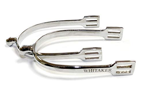 John Whitaker Unisex's TR-WHT0050 Spurs, Silver, One Size from John Whitaker