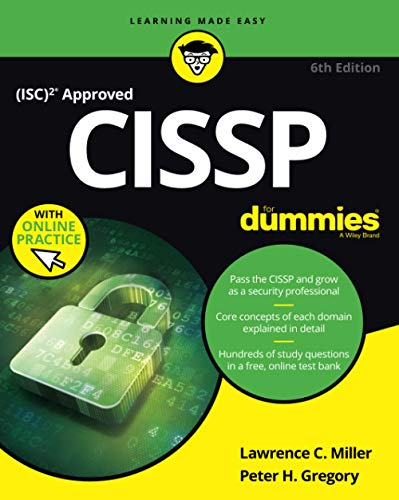 CISSP For Dummies (For Dummies (Computer/Tech)) from For Dummies