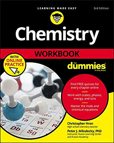 Chemistry Workbook For Dummies with Online Practice from For Dummies