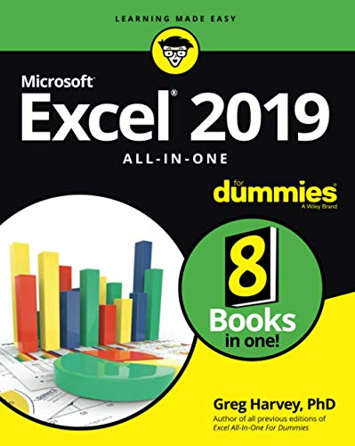 Excel 2019 All-in-One For Dummies from John Wiley & Sons