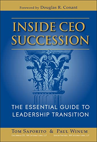 Inside CEO Succession: The Essential Guide to Leadership Transition from Jossey-Bass