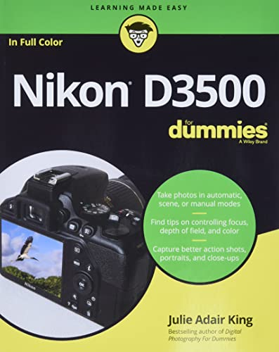 Nikon D3500 For Dummies from For Dummies
