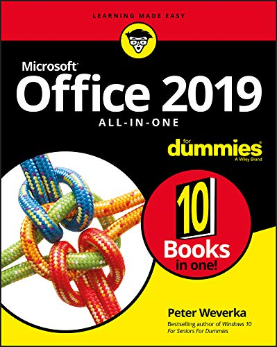 Office 2019 All-in-One For Dummies (Office All-in-one for Dummies) from For Dummies